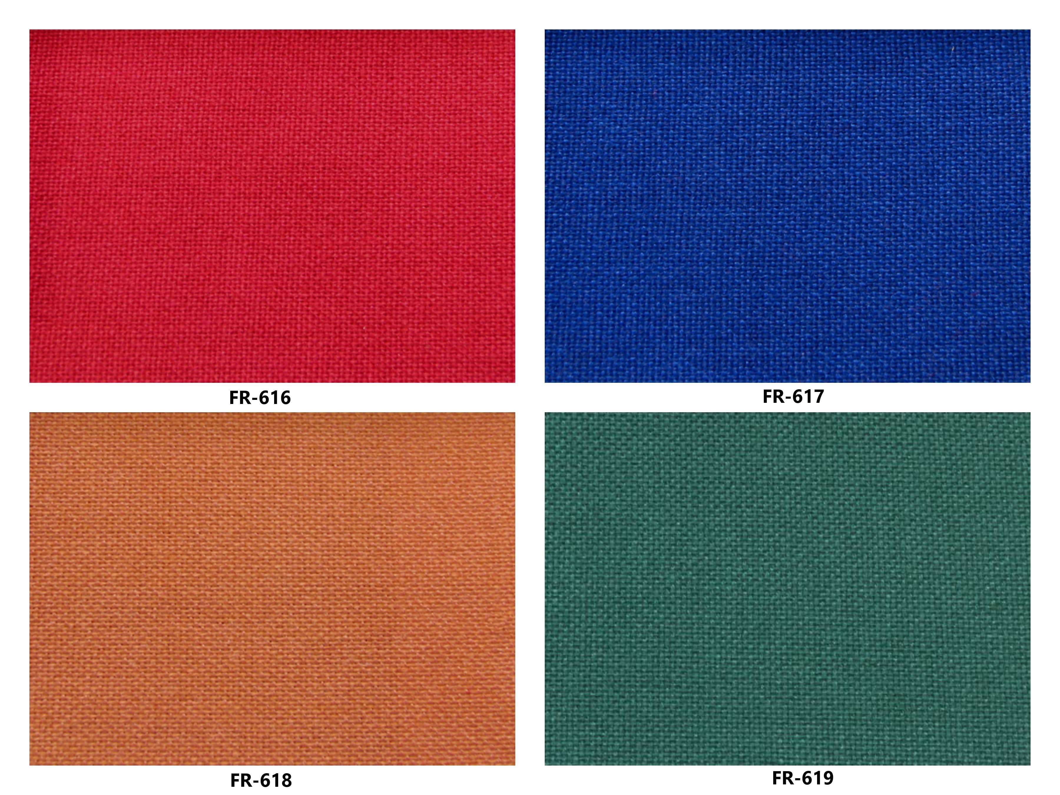 Bảng màu vải nỉ Hàn Quốc FR-616~619