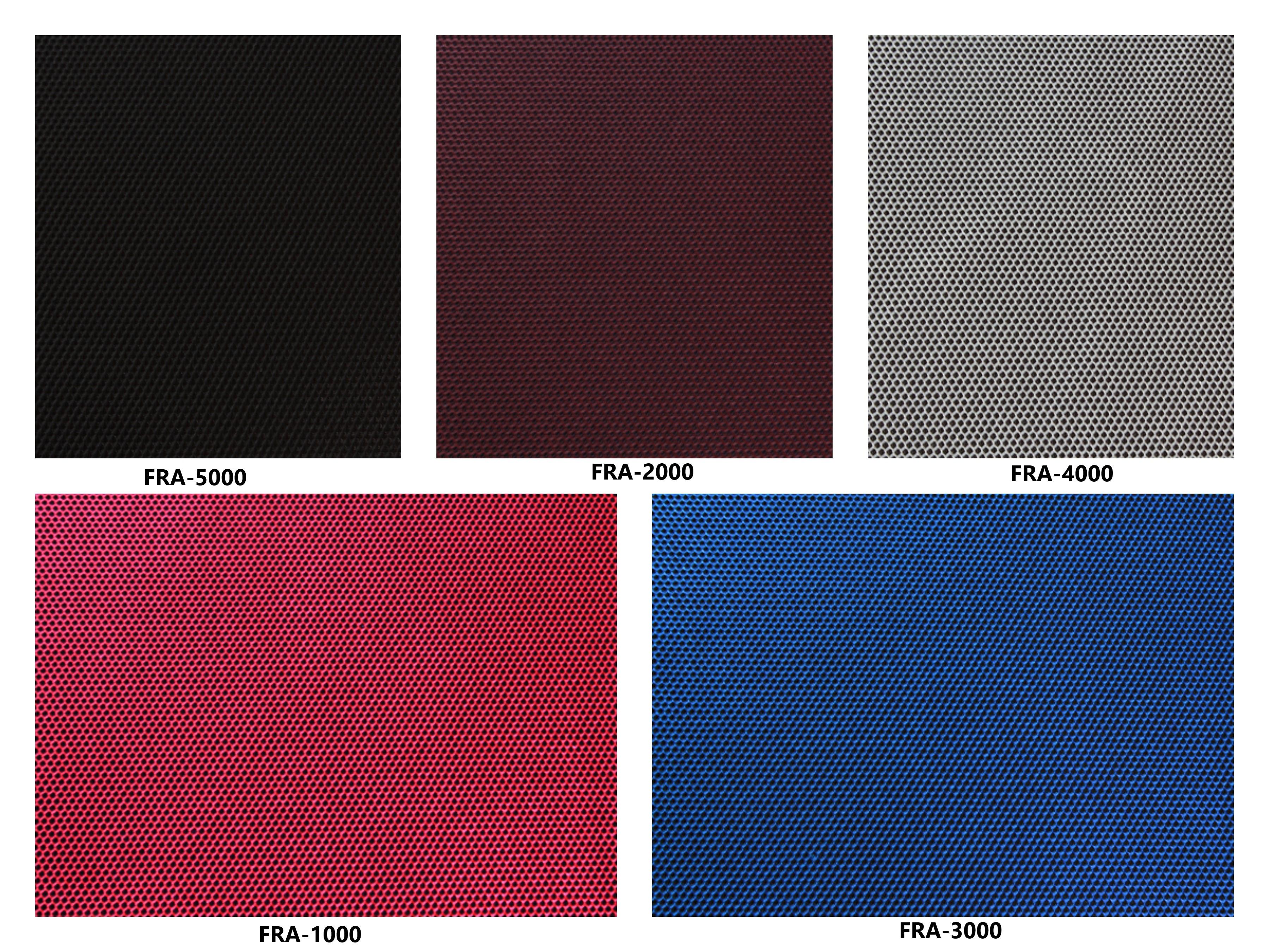 Bảng màu vải nỉ Hàn Quốc FRA-1000~5000