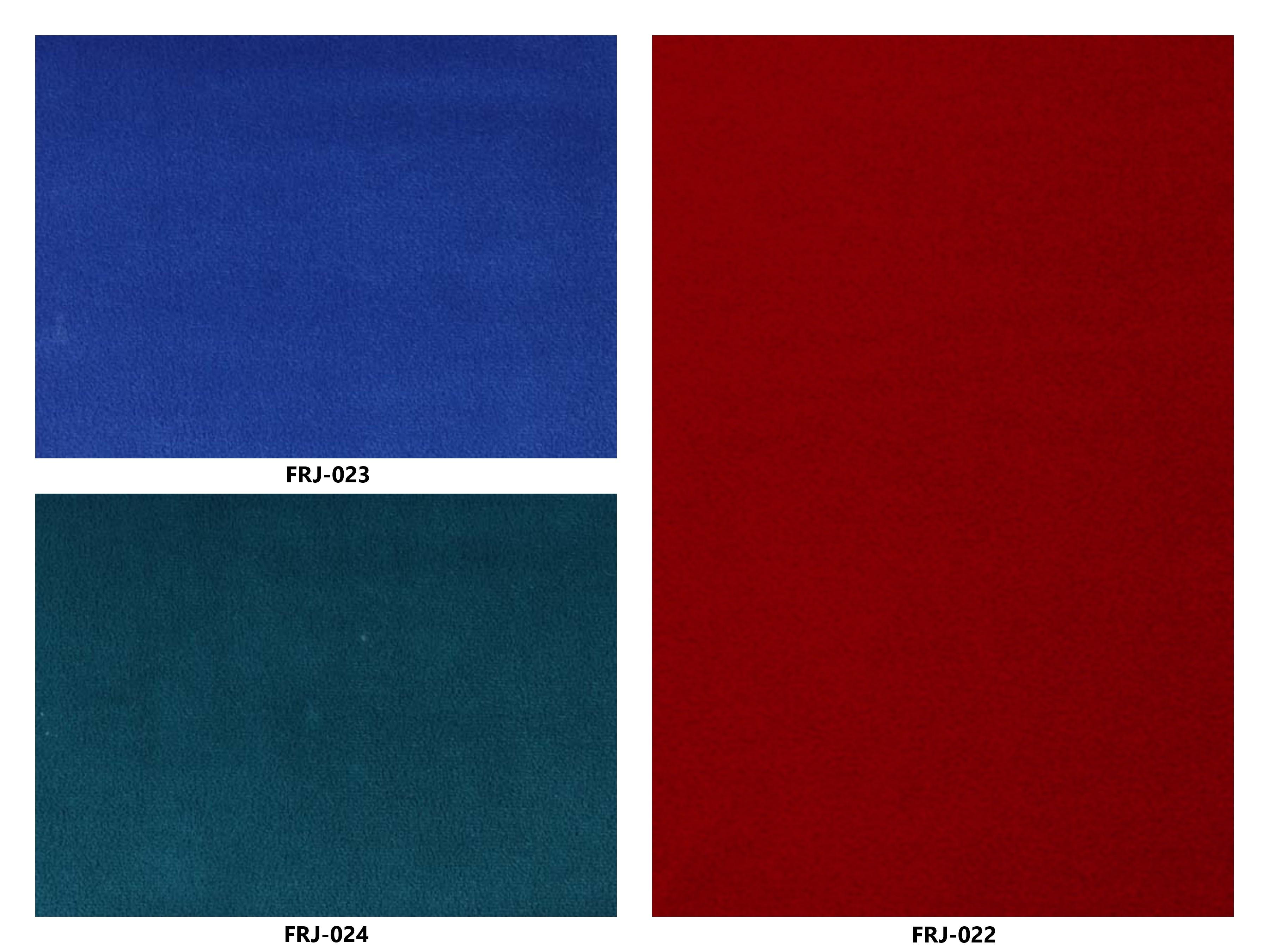 Bảng màu vải nỉ Hàn Quốc FRJ-022~024