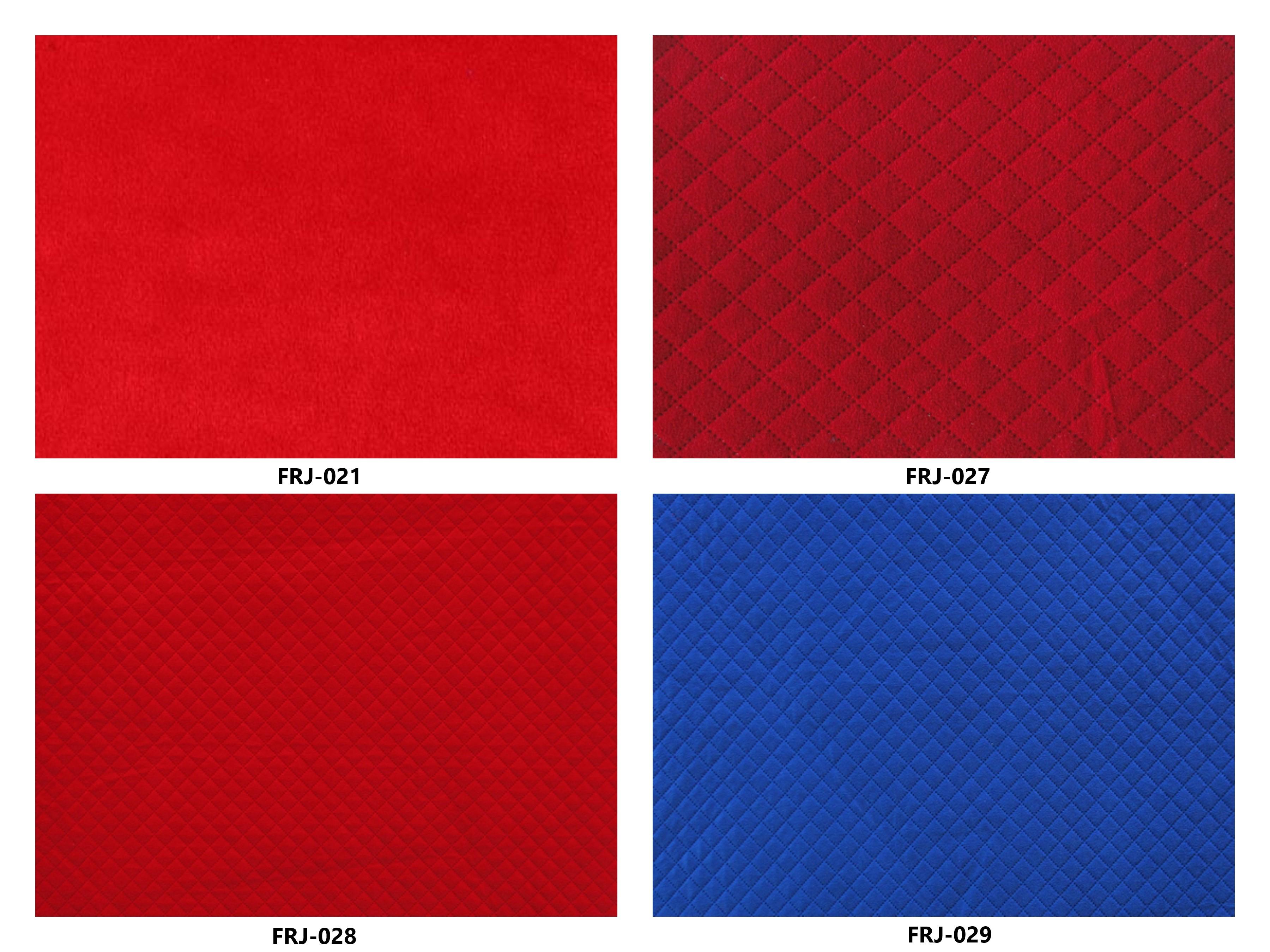 Bảng màu vải nỉ Hàn Quốc FRJ-021-027-028-029