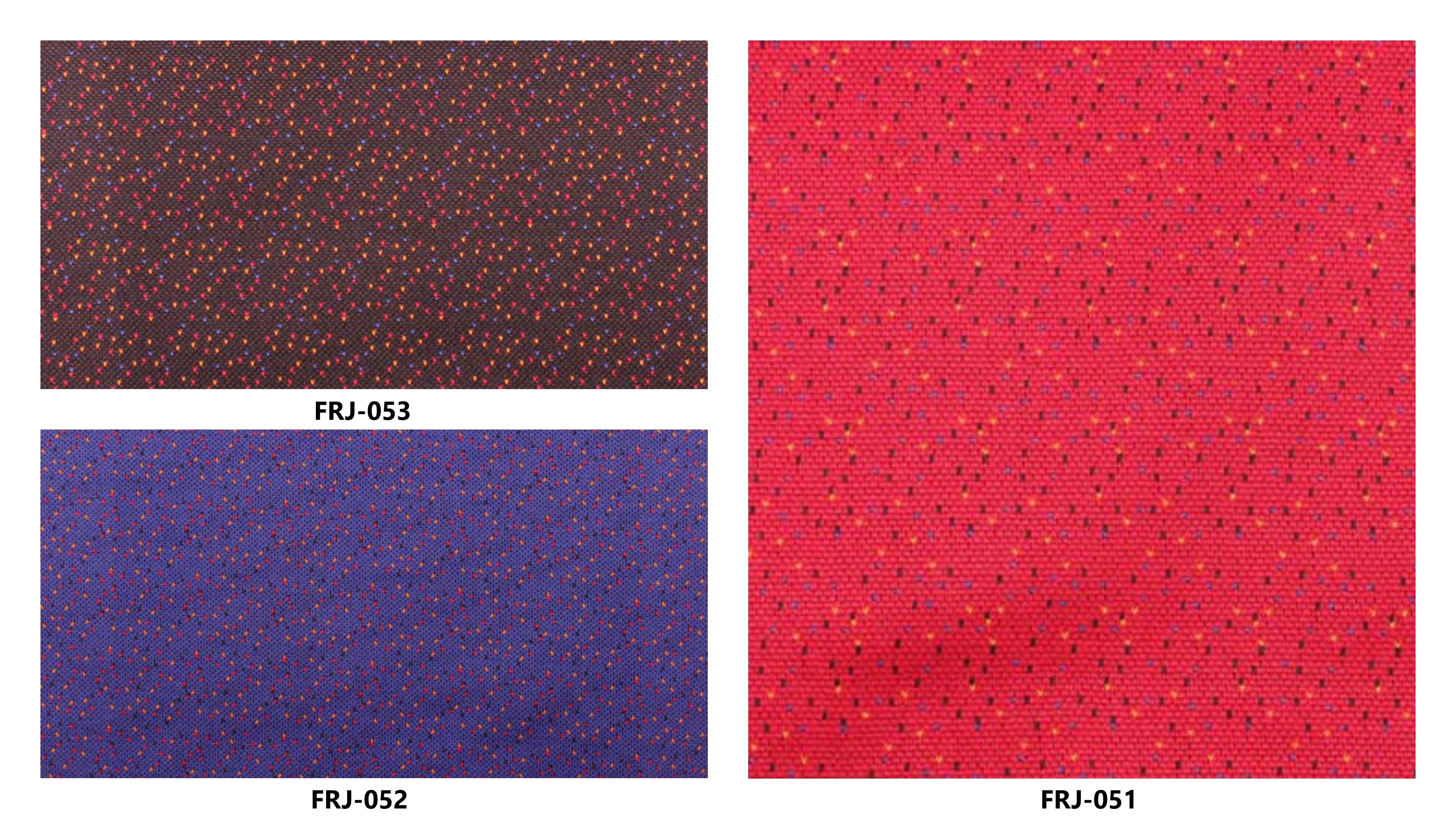 Bảng màu vải nỉ Hàn Quốc FRJ-051~53