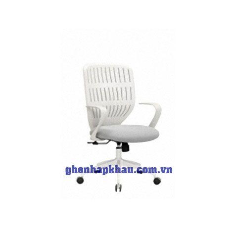 Ghế xoay LA-001 Khung trắng