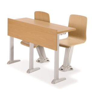 Bàn ghế hội trường Hàn Quốc HY-860W