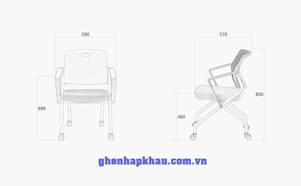 kích thước ghế onyx 5