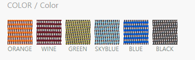 màu lưới lưng ghế